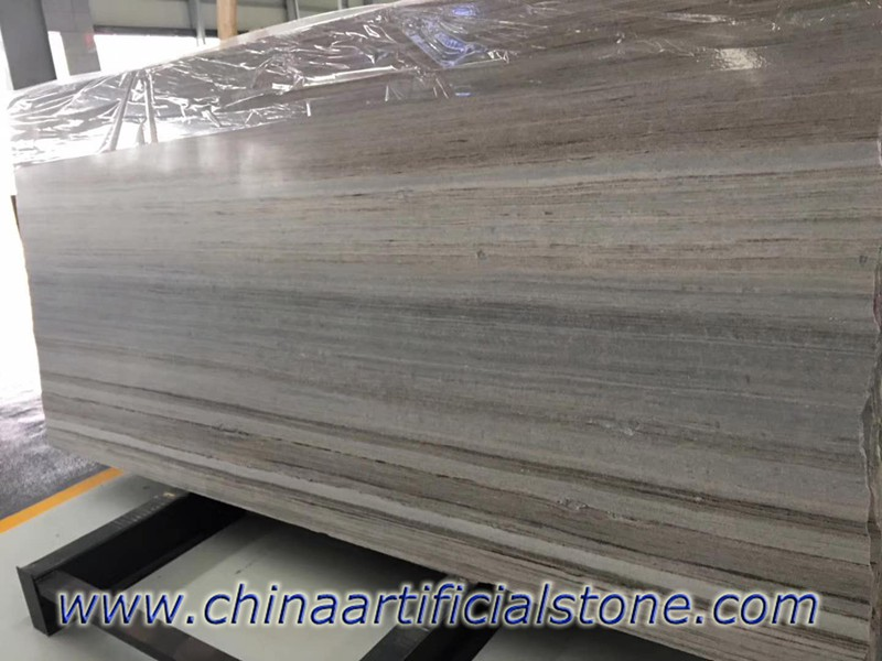 Palissandro Blue Wood Vein Grain Marble Slabs
