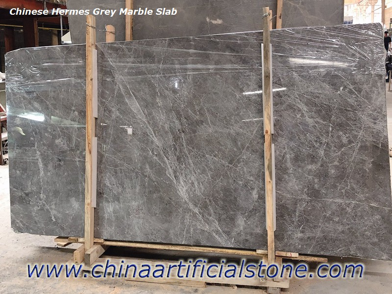 China Grey with White Veins Marble slabs