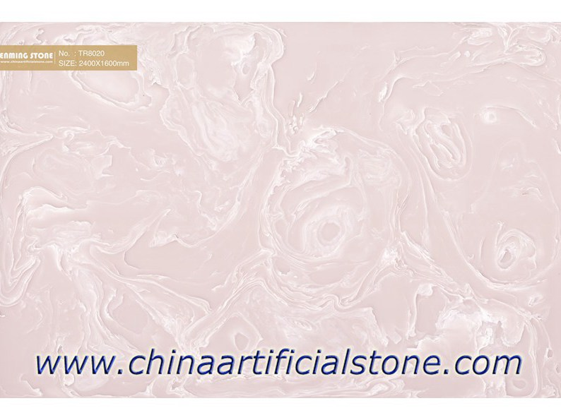 Pink Artificial Onyx Slabs
