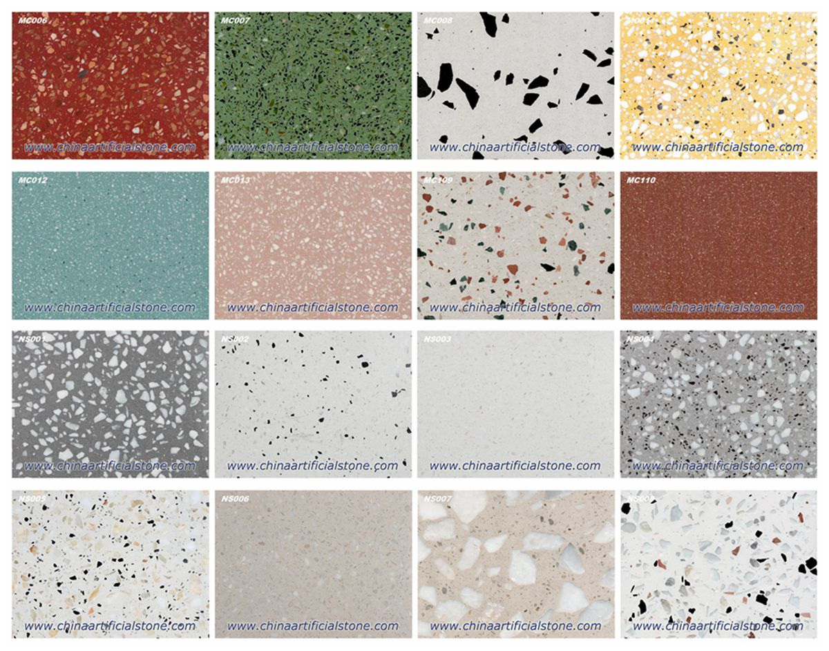 Terrazzo for Antislip Bathroom Tiles