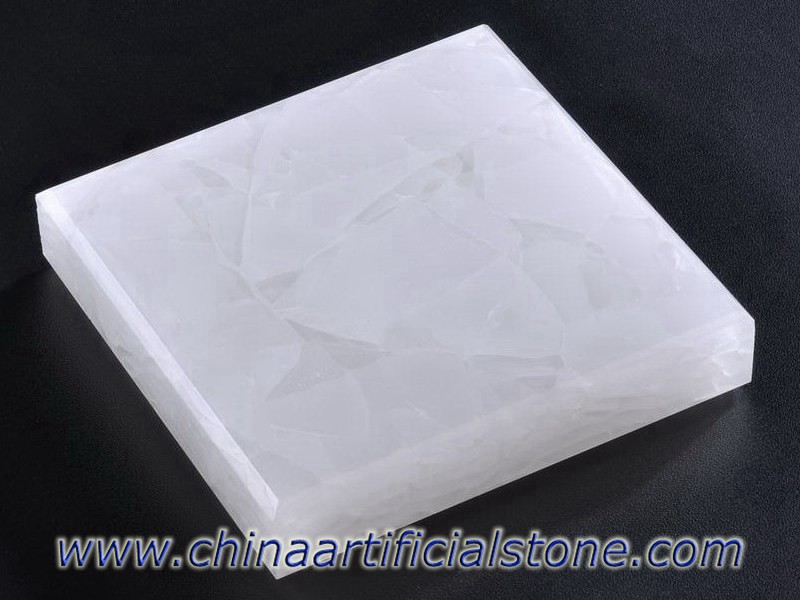 Ash White Jade Sea Glass